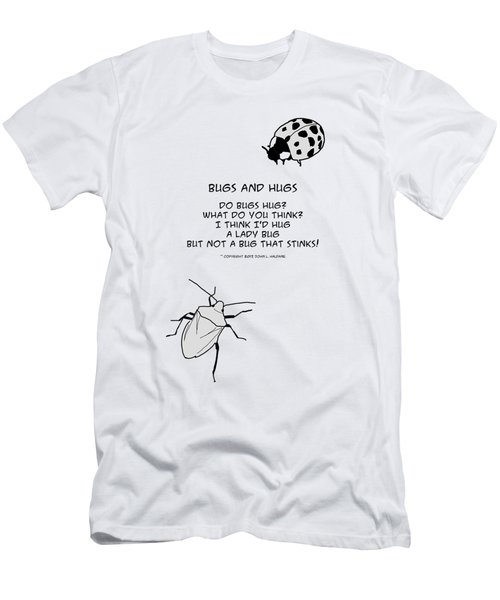 Do Bugs Hug Men's T-Shirt (Athletic Fit)