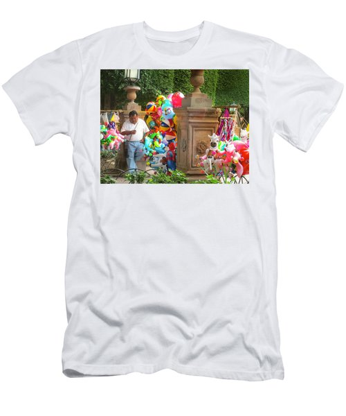 Do I Have Balloons Men's T-Shirt (Athletic Fit)