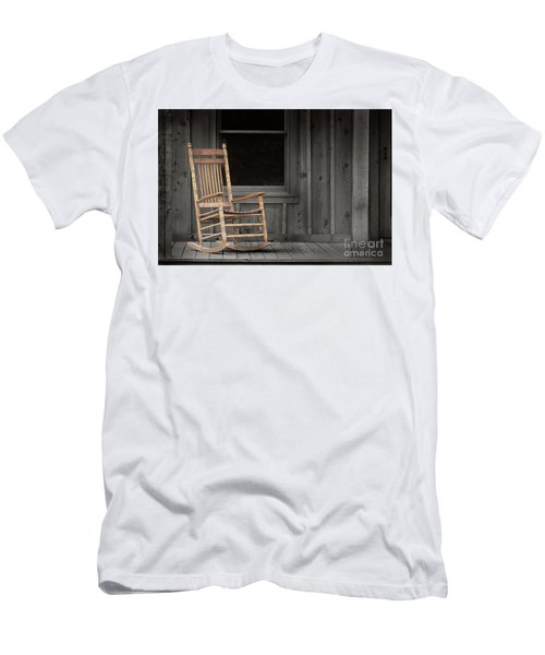 Dock Chair Men's T-Shirt (Slim Fit) by Sebastian Mathews Szewczyk