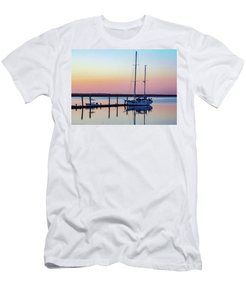 Docked On Jekyll Island Men's T-Shirt (Athletic Fit)