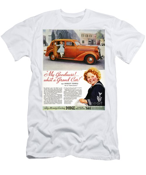 Dodge Automobile Ad, 1936 Men's T-Shirt (Slim Fit) by Granger