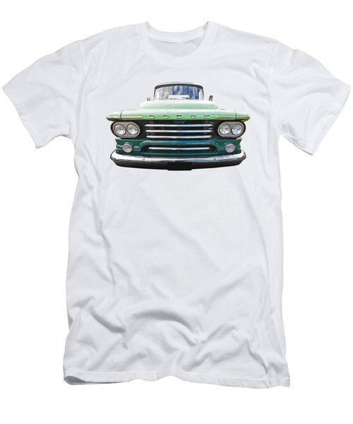 Dodge D100 Sweptside 1958 Men's T-Shirt (Athletic Fit)