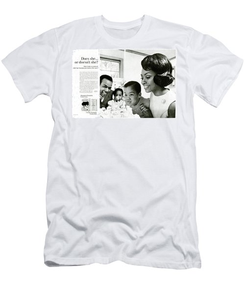 Does She Or Doesn't She Men's T-Shirt (Athletic Fit)
