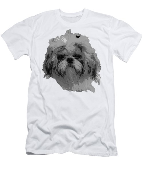 Dog Head  Men's T-Shirt (Athletic Fit)