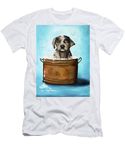 Dog N Suds Men's T-Shirt (Athletic Fit)