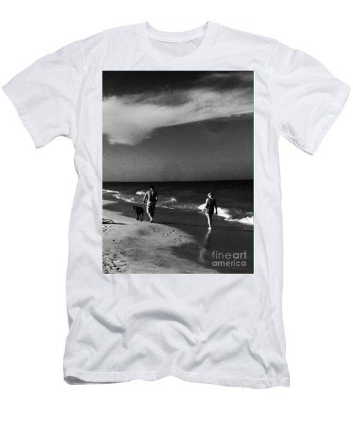 Dog Walk Men's T-Shirt (Athletic Fit)