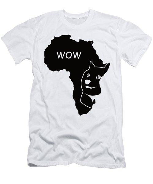 Dogecoin In Africa Men's T-Shirt (Slim Fit) by Michael Jordan