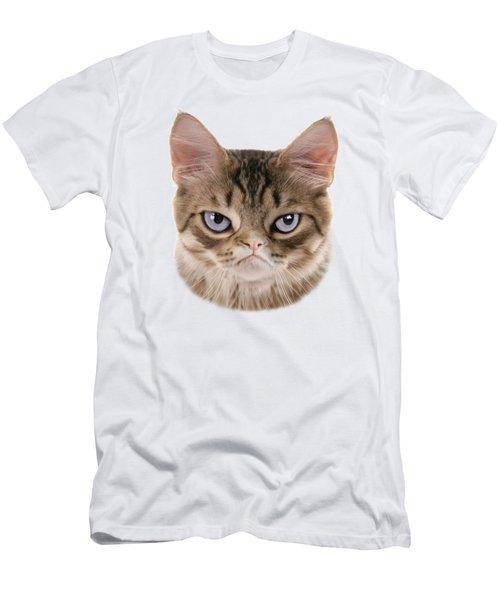 Kitten T-shirt Men's T-Shirt (Athletic Fit)