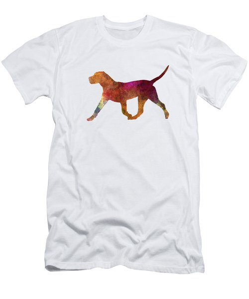 Dogo Canario In Watercolor Men's T-Shirt (Slim Fit)