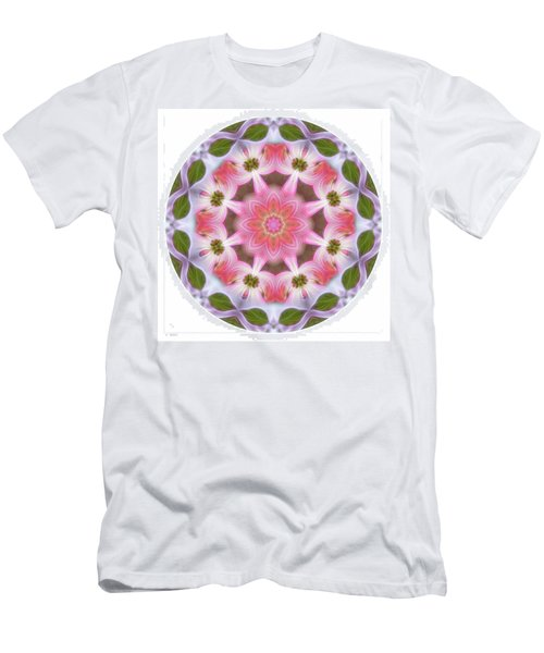 Dogwood Energy Mandala Men's T-Shirt (Athletic Fit)