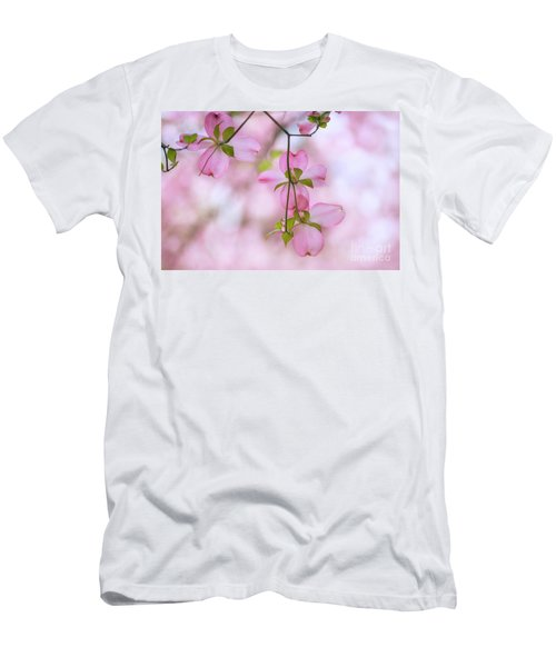 Dogwood Sunset Men's T-Shirt (Slim Fit) by Rima Biswas