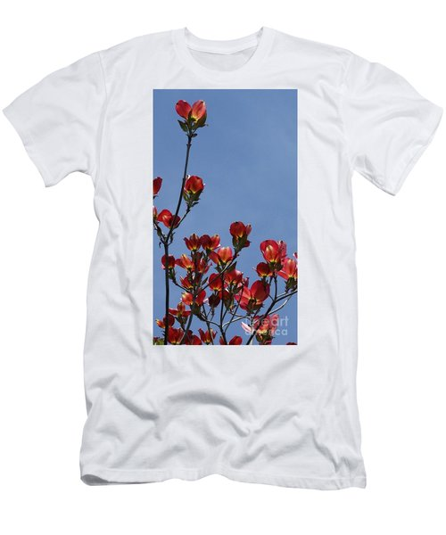 Men's T-Shirt (Slim Fit) featuring the photograph Dogwood by Victor K