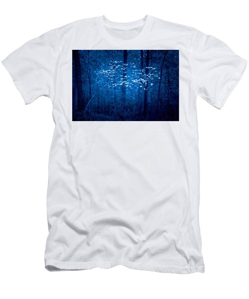 Men's T-Shirt (Slim Fit) featuring the photograph Dogwoods Of Texas by Linda Unger