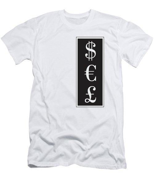 Dollar Euro Pound Men's T-Shirt (Athletic Fit)