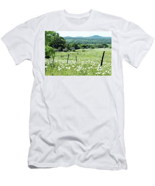 Men's T-Shirt (Slim Fit) featuring the photograph Done In White by Joe Jake Pratt