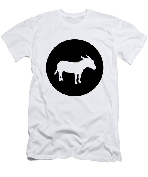 Donkey Men's T-Shirt (Slim Fit) by Mordax Furittus