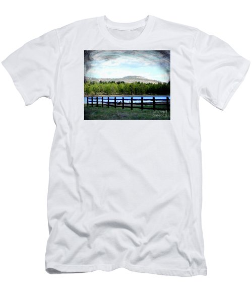 Men's T-Shirt (Athletic Fit) featuring the photograph Don't Fence Me In by Beauty For God