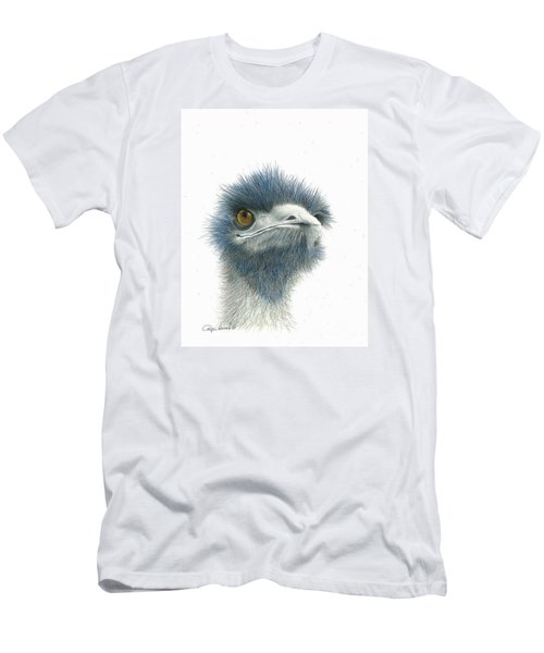 Dont Mess With Emu Men's T-Shirt (Slim Fit) by Phyllis Howard
