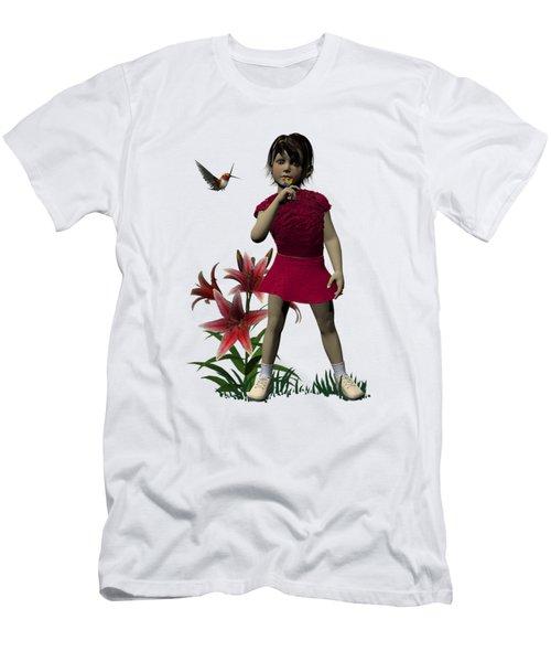 Don't Scare Him Men's T-Shirt (Athletic Fit)