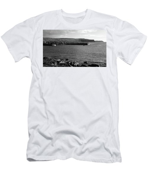 Doolin Harbour Men's T-Shirt (Athletic Fit)