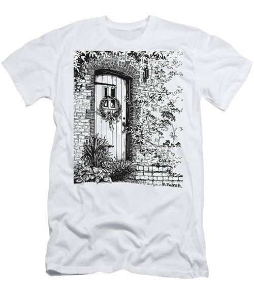 Door Men's T-Shirt (Athletic Fit)