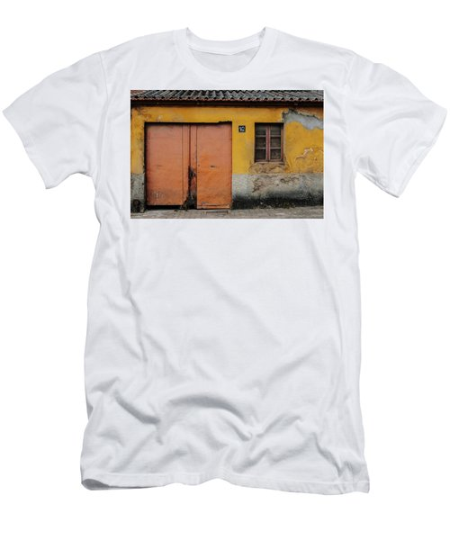 Men's T-Shirt (Slim Fit) featuring the photograph Door No 162 by Marco Oliveira