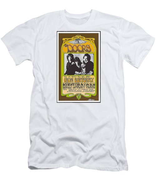 Doors/iron Butterfly Concert Poster Men's T-Shirt (Athletic Fit)
