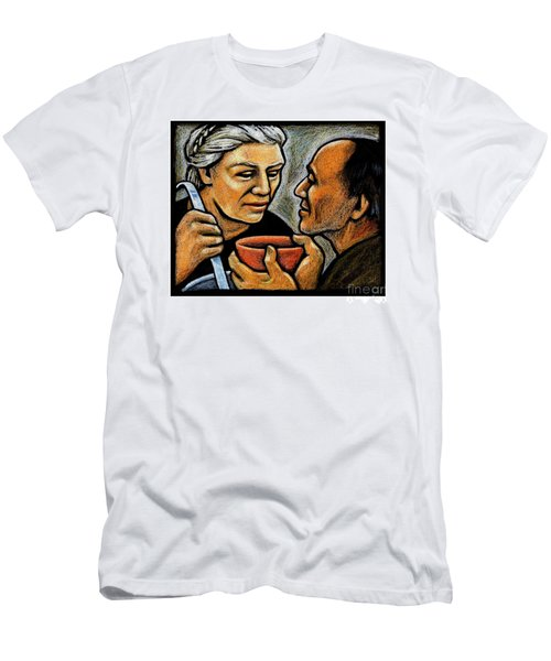 Dorothy Day Feeding The Hungry - Jlddf Men's T-Shirt (Athletic Fit)