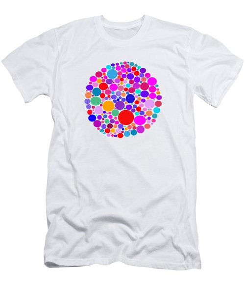 Dots 03 Men's T-Shirt (Slim Fit)