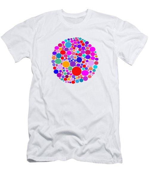 Dots 03 Men's T-Shirt (Athletic Fit)