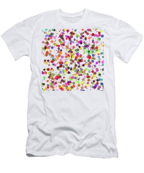 Dots Men's T-Shirt (Slim Fit) by Roger Lighterness