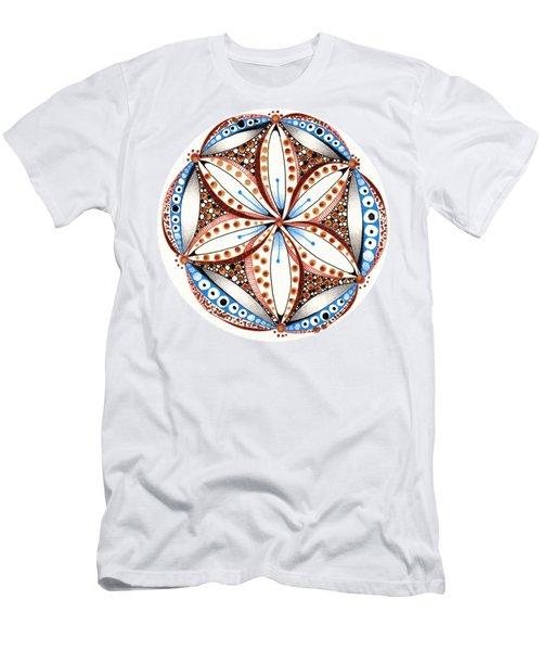 Dotted Zendala Men's T-Shirt (Athletic Fit)