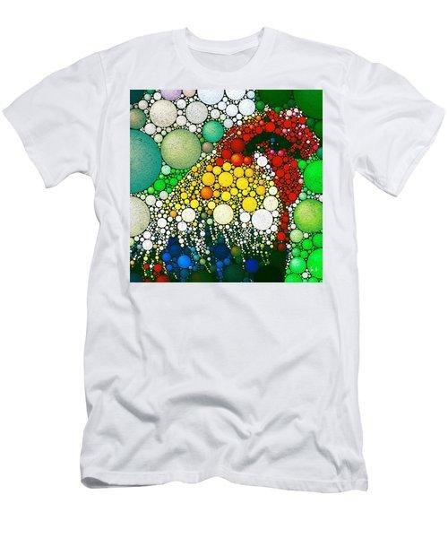 Dotty Doodle Doo Men's T-Shirt (Athletic Fit)