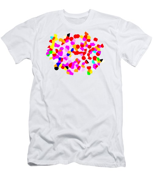 Dotty Hippo No.7 Men's T-Shirt (Athletic Fit)