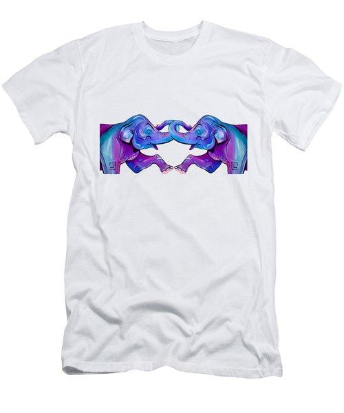 Double Take Elephant Men's T-Shirt (Athletic Fit)