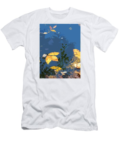Men's T-Shirt (Slim Fit) featuring the photograph Double Trinity by Spyder Webb