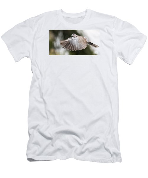 Men's T-Shirt (Slim Fit) featuring the photograph Dove Flight by Don Durfee