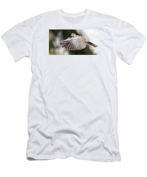 Dove Flight Men's T-Shirt (Athletic Fit)