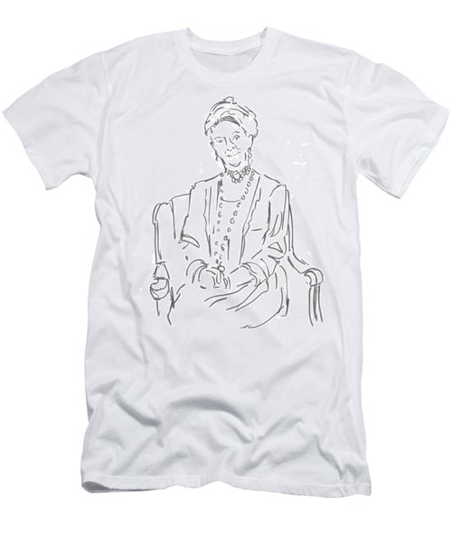 Downton Abbey - The Dowager Countess Men's T-Shirt (Athletic Fit)