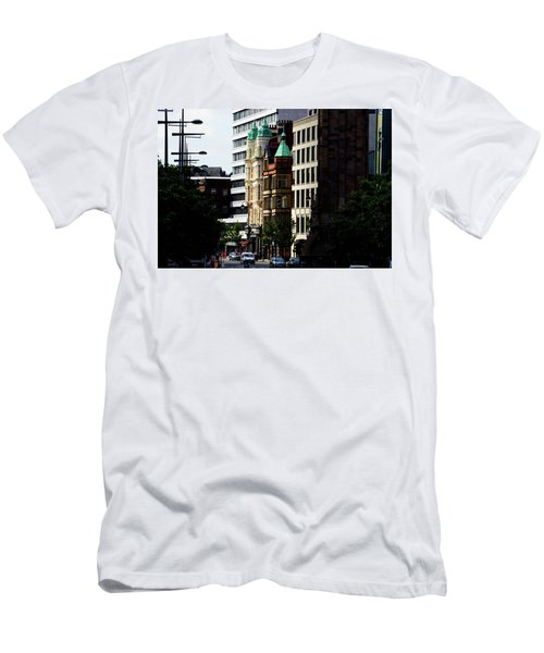 Downtown Belfast Men's T-Shirt (Athletic Fit)