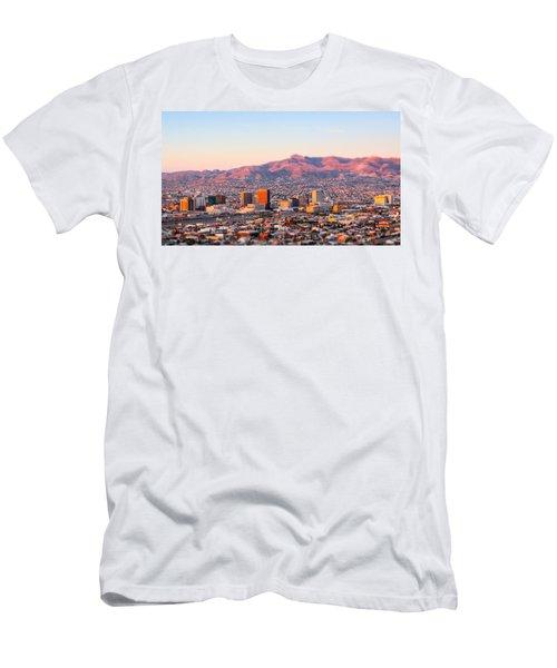 Downtown El Paso Sunrise Men's T-Shirt (Athletic Fit)
