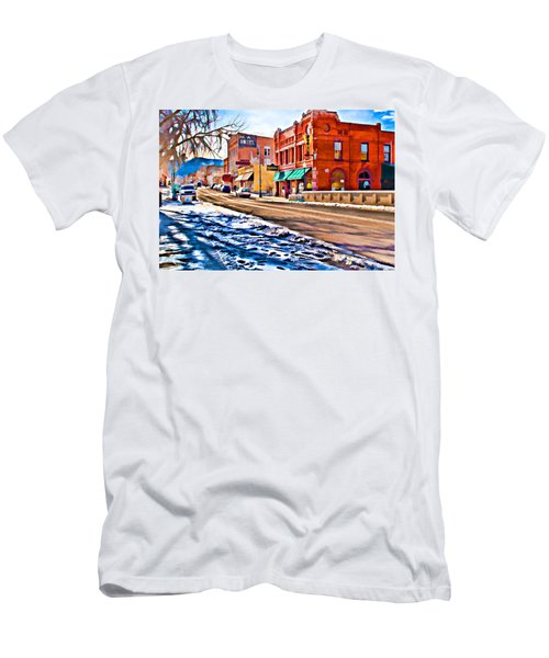 Downtown Salida Hotels Men's T-Shirt (Athletic Fit)