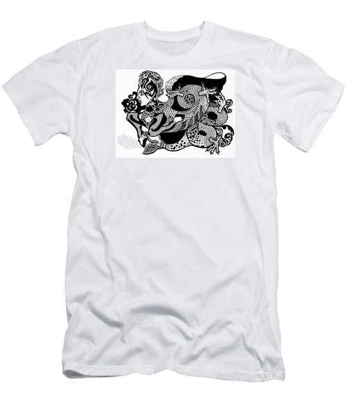 Dragon Lady Men's T-Shirt (Athletic Fit)