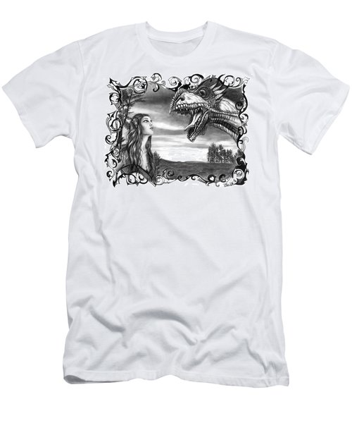 Dragon Whisperer  Men's T-Shirt (Athletic Fit)