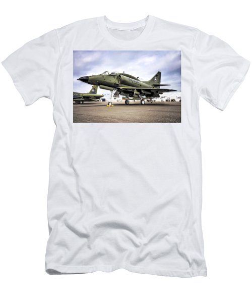 Douglas A-4m Skyhawk II Men's T-Shirt (Athletic Fit)