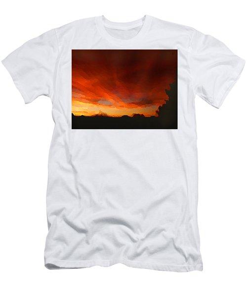 Drama At Sunrise Men's T-Shirt (Athletic Fit)