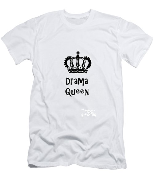 Drama Queen 1 Men's T-Shirt (Athletic Fit)