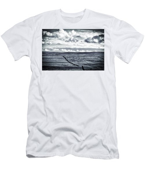 Men's T-Shirt (Slim Fit) featuring the photograph Dramatic Landscape  by RKAB Works