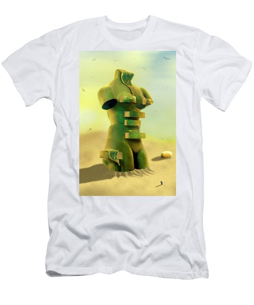 Drawers 2 Men's T-Shirt (Slim Fit) by Mike McGlothlen