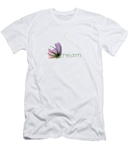 Men's T-Shirt (Slim Fit) featuring the digital art Dream by Ann Lauwers